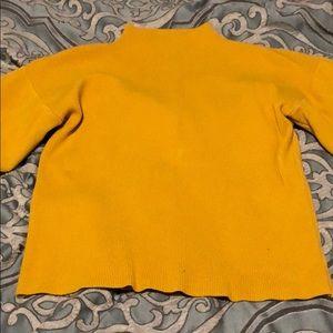 Mustard color sweater
